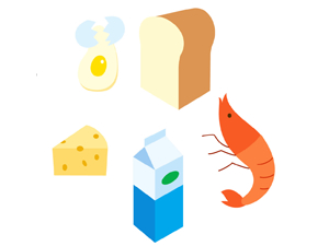 食物アレルギー(フードアレルギー)の検査と予防